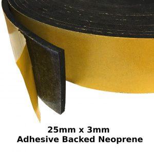 self adhesive expanded neoprene