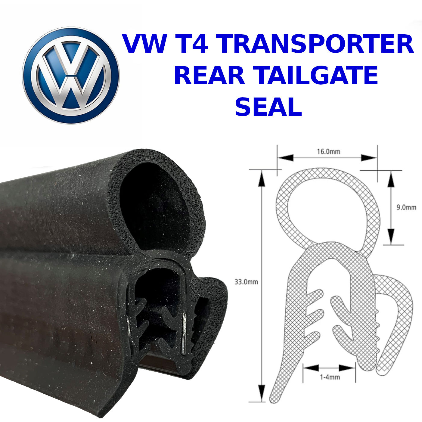 VW T4 Boot Seal