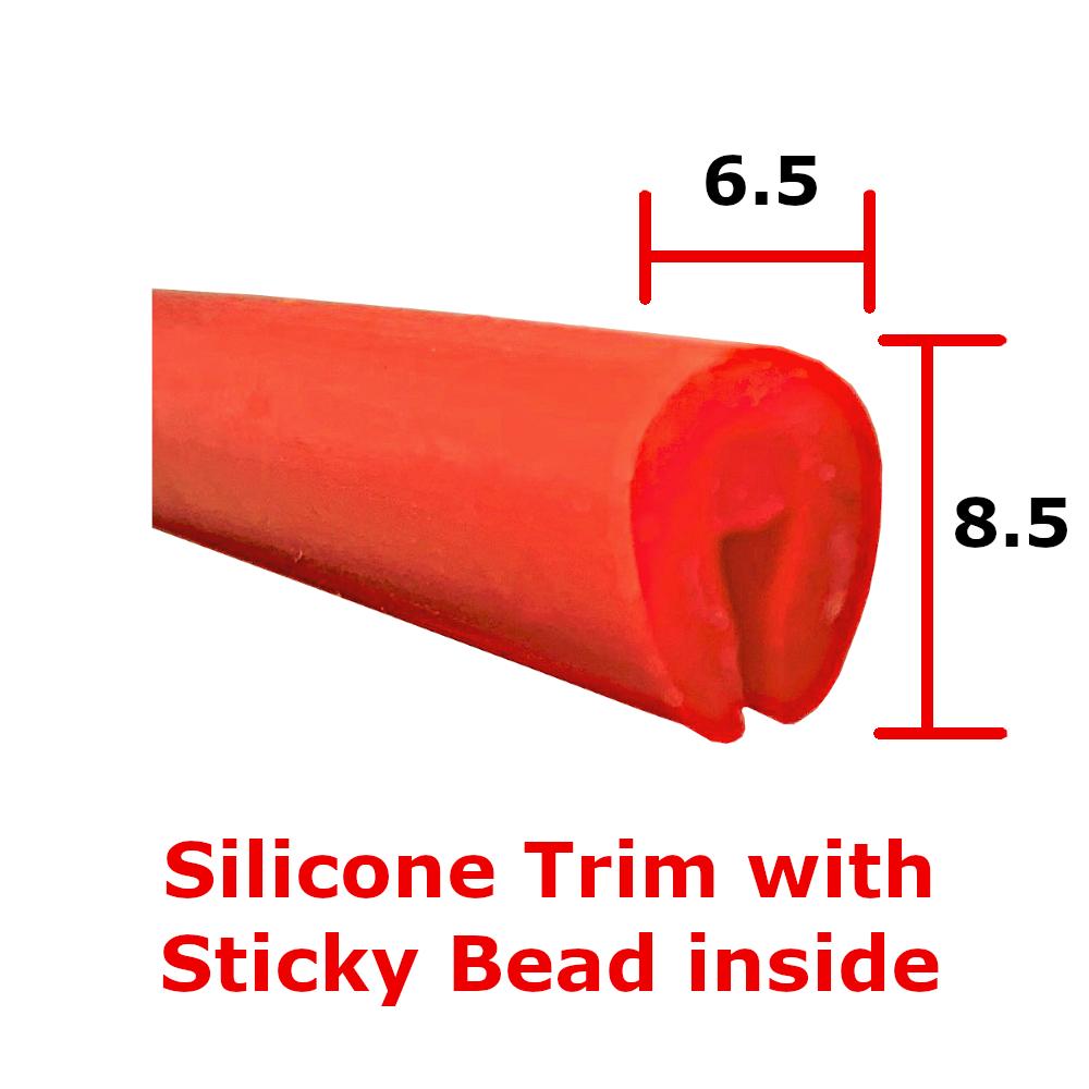 Red Silicon Edge Trim