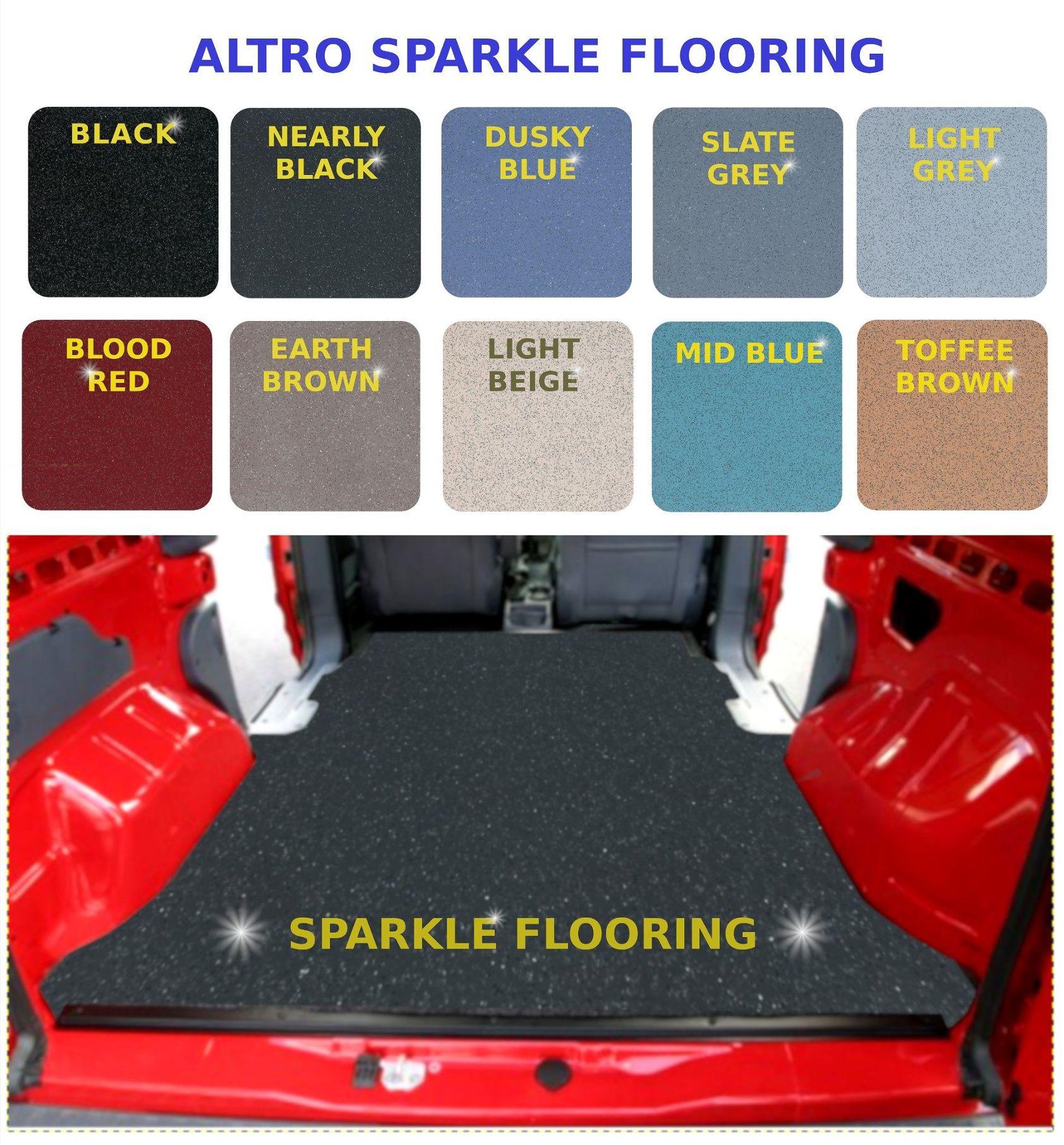 Altro contrax van vinyl flooring