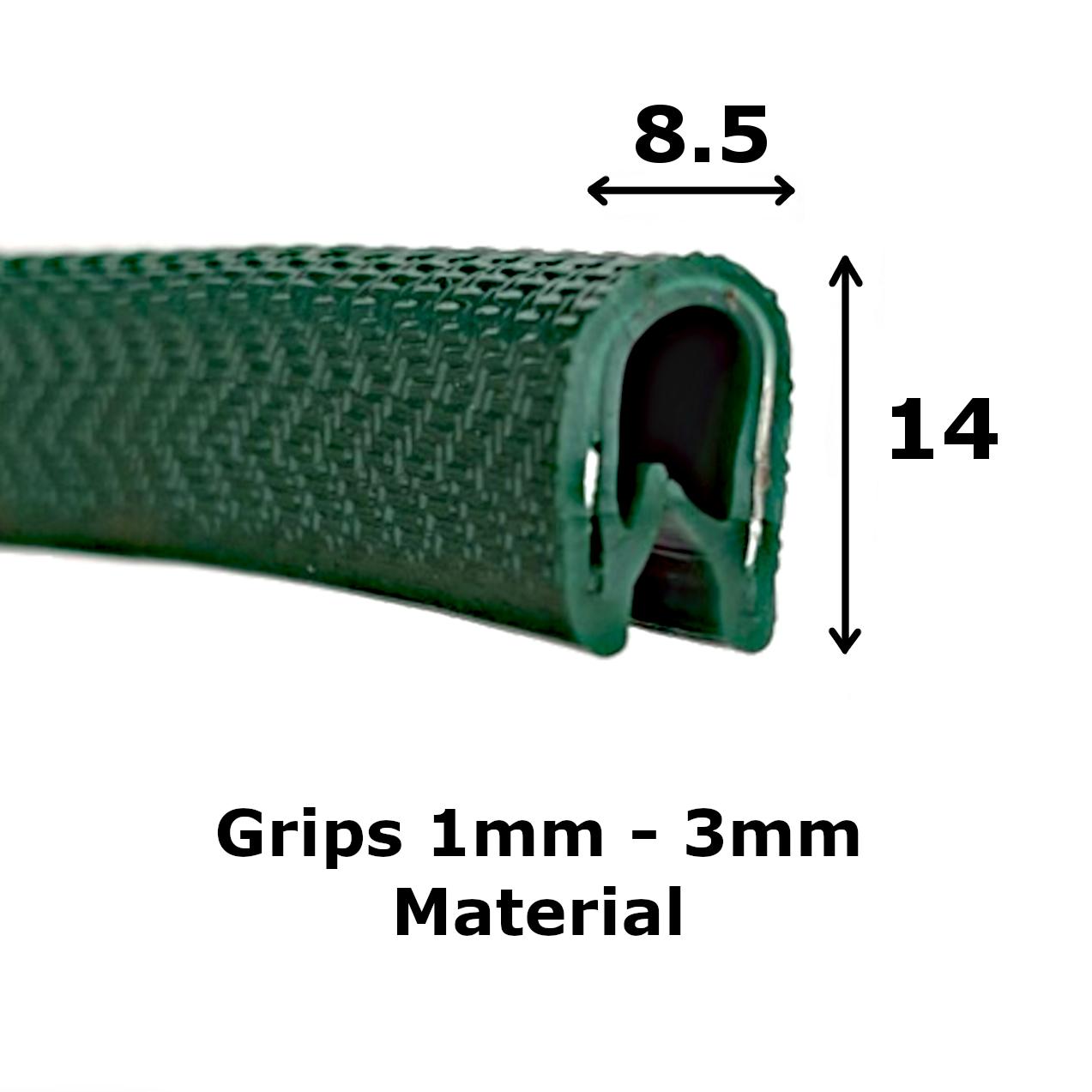 Standard Green Edge Trim