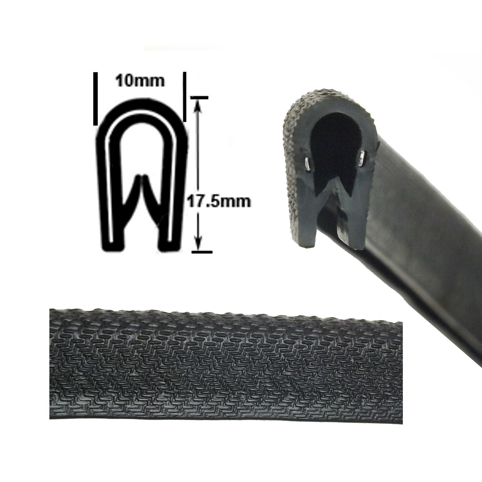 Medium protective edge trim