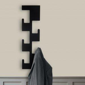 Black Retro Coat Rack