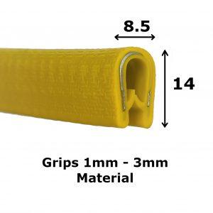 Yellow Protective Edge Trim