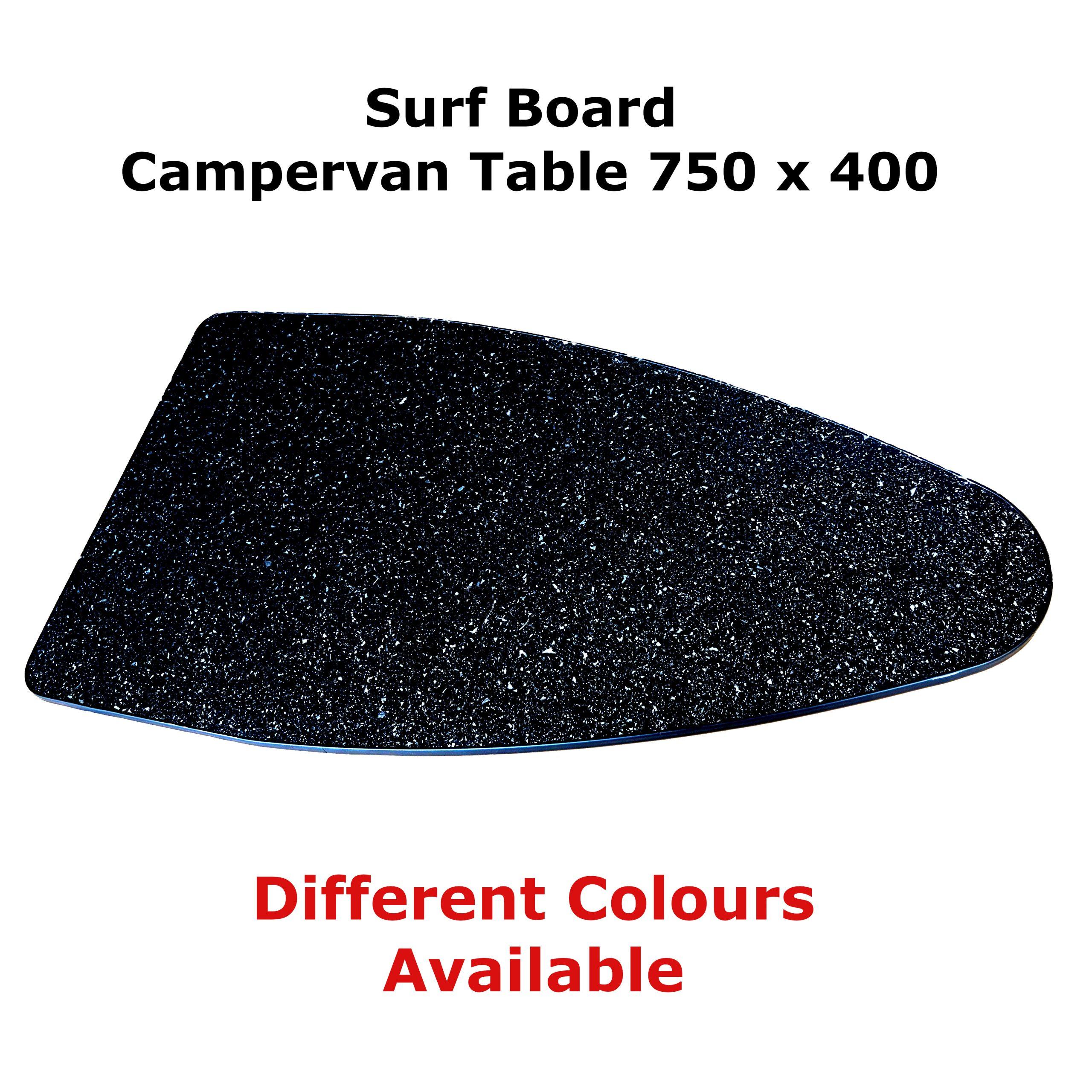 Surfboard Camper Table